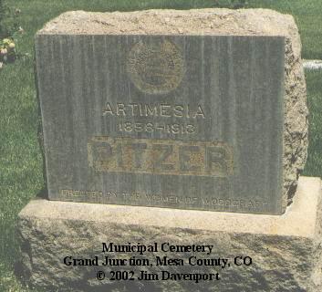 PITZER, ARTIMESIA - Mesa County, Colorado | ARTIMESIA PITZER - Colorado Gravestone Photos