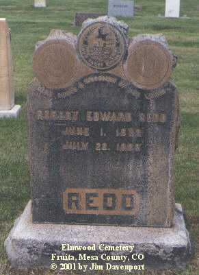 REDD, ROBERT EDWARD - Mesa County, Colorado | ROBERT EDWARD REDD - Colorado Gravestone Photos