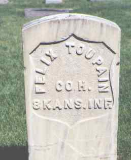 TOUPAIN, FELIX - Mesa County, Colorado | FELIX TOUPAIN - Colorado Gravestone Photos