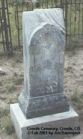 MAHONEY, MARY A. - Mineral County, Colorado | MARY A. MAHONEY - Colorado Gravestone Photos