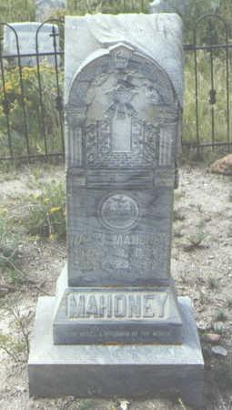 MAHONEY, WM. J. - Mineral County, Colorado | WM. J. MAHONEY - Colorado Gravestone Photos