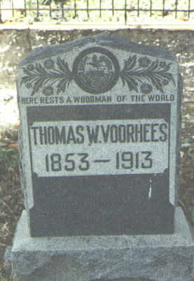 VOORHEES, THOMAS W. - Mineral County, Colorado | THOMAS W. VOORHEES - Colorado Gravestone Photos