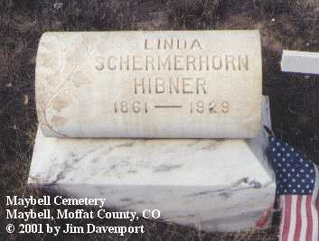 HIBNER, LINDA - Moffat County, Colorado | LINDA HIBNER - Colorado Gravestone Photos