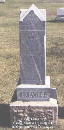 TOWER, JAMES L. - Moffat County, Colorado   JAMES L. TOWER - Colorado Gravestone Photos