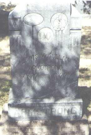 ARMSTRONG, LEWIS MCCULLAN - Montezuma County, Colorado | LEWIS MCCULLAN ARMSTRONG - Colorado Gravestone Photos