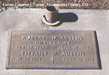 AUSTIN, TIFFANY M. - Montezuma County, Colorado | TIFFANY M. AUSTIN - Colorado Gravestone Photos
