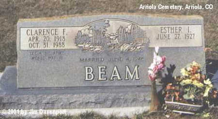 BEAM, ESTHER L. - Montezuma County, Colorado | ESTHER L. BEAM - Colorado Gravestone Photos