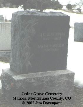 KELLY, MARY L. - Montezuma County, Colorado | MARY L. KELLY - Colorado Gravestone Photos