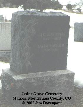 BRITTAIN, JAS. W. - Montezuma County, Colorado | JAS. W. BRITTAIN - Colorado Gravestone Photos