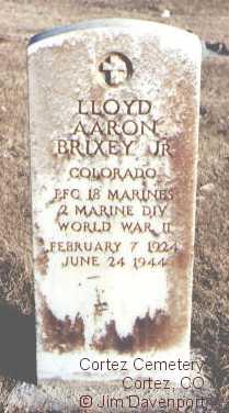 BRIXEY, LLOYD AARON, JR. - Montezuma County, Colorado | LLOYD AARON, JR. BRIXEY - Colorado Gravestone Photos