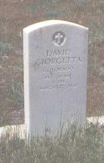 GIORGETTA, DAVID - Montezuma County, Colorado | DAVID GIORGETTA - Colorado Gravestone Photos