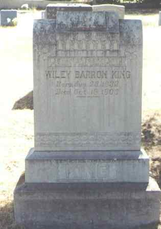 KING, WILEY BARRON - Montezuma County, Colorado | WILEY BARRON KING - Colorado Gravestone Photos