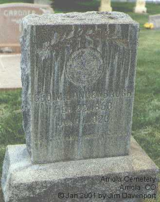 LONGENBAUGH, GEO. M. - Montezuma County, Colorado | GEO. M. LONGENBAUGH - Colorado Gravestone Photos