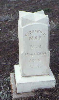 MAY, RICHARD U. - Montezuma County, Colorado | RICHARD U. MAY - Colorado Gravestone Photos