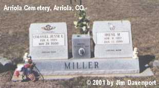 MILLER, JESSE L. - Montezuma County, Colorado | JESSE L. MILLER - Colorado Gravestone Photos