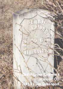 MOREFIELD, JOSIAH J. - Montezuma County, Colorado   JOSIAH J. MOREFIELD - Colorado Gravestone Photos