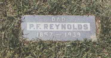 REYNOLDS, P. F. - Montezuma County, Colorado | P. F. REYNOLDS - Colorado Gravestone Photos