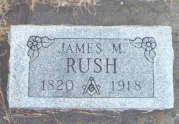RUSH, JAMES M. - Montezuma County, Colorado | JAMES M. RUSH - Colorado Gravestone Photos