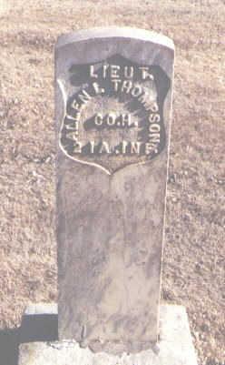 THOMPSON, ALLEN L. - Montezuma County, Colorado | ALLEN L. THOMPSON - Colorado Gravestone Photos