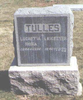 TULLES, LEICESTER - Montezuma County, Colorado | LEICESTER TULLES - Colorado Gravestone Photos