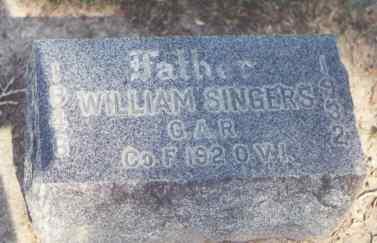 SINGERS, W - Montrose County, Colorado   W SINGERS - Colorado Gravestone Photos
