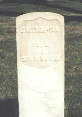 THOMPSON, C. W. - Montrose County, Colorado | C. W. THOMPSON - Colorado Gravestone Photos