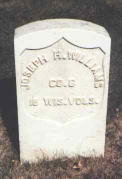 WILLIAMS, JOSEPH H. - Montrose County, Colorado | JOSEPH H. WILLIAMS - Colorado Gravestone Photos