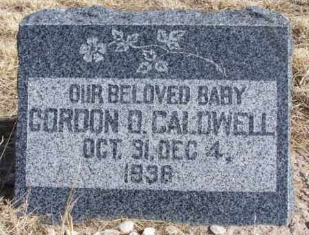 CALDWELL, GORDON O - Morgan County, Colorado | GORDON O CALDWELL - Colorado Gravestone Photos