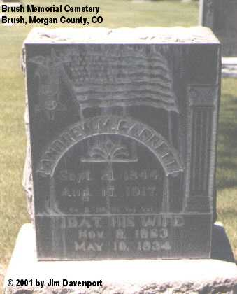 GARRETT, IDA T. - Morgan County, Colorado | IDA T. GARRETT - Colorado Gravestone Photos