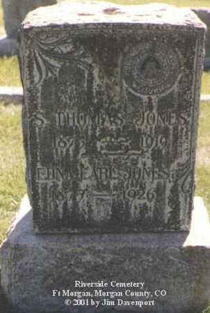 JONES, EDNA EARL - Morgan County, Colorado | EDNA EARL JONES - Colorado Gravestone Photos