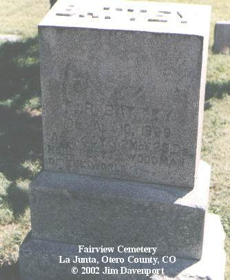 BATTEY, F. R. - Otero County, Colorado | F. R. BATTEY - Colorado Gravestone Photos