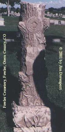 BROWN, ANDREW H. - Otero County, Colorado | ANDREW H. BROWN - Colorado Gravestone Photos
