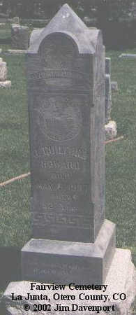 HOWARD, J. GUILFORD - Otero County, Colorado | J. GUILFORD HOWARD - Colorado Gravestone Photos