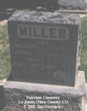 MILLER, CHARLES PHILLIP - Otero County, Colorado | CHARLES PHILLIP MILLER - Colorado Gravestone Photos