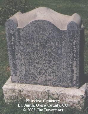 MIXON, JENNIE - Otero County, Colorado | JENNIE MIXON - Colorado Gravestone Photos