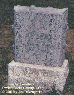 SIGAFOOS, GERTIE - Otero County, Colorado   GERTIE SIGAFOOS - Colorado Gravestone Photos