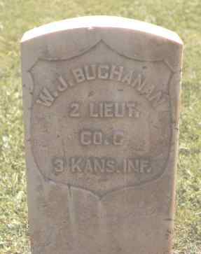 BUCHANAN, W. J. - Ouray County, Colorado | W. J. BUCHANAN - Colorado Gravestone Photos
