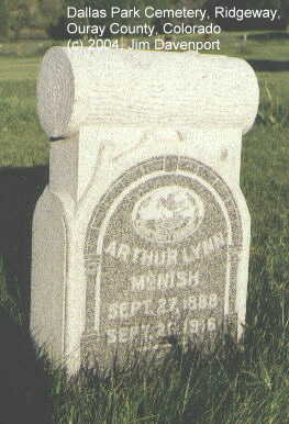 MCNISH, ARTHUR LYNN - Ouray County, Colorado | ARTHUR LYNN MCNISH - Colorado Gravestone Photos