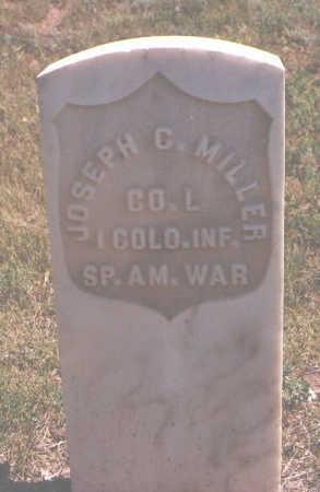 MILLER, JOSEPH C. - Ouray County, Colorado   JOSEPH C. MILLER - Colorado Gravestone Photos