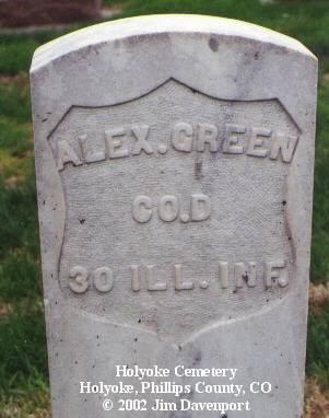 GREEN, ALEX - Phillips County, Colorado   ALEX GREEN - Colorado Gravestone Photos