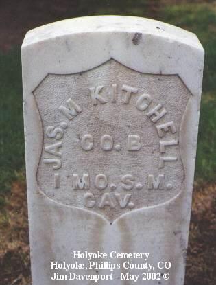 KITCHELL, JAS. M. - Phillips County, Colorado | JAS. M. KITCHELL - Colorado Gravestone Photos