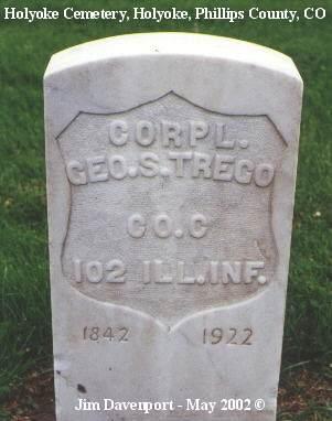 TREGO, GEO. S. - Phillips County, Colorado | GEO. S. TREGO - Colorado Gravestone Photos