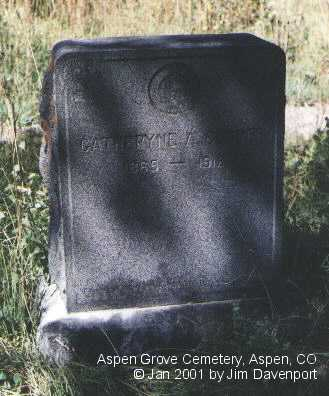 COOPER, CATHERYNE A. - Pitkin County, Colorado | CATHERYNE A. COOPER - Colorado Gravestone Photos