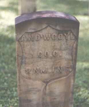COYL, AND'W. - Pitkin County, Colorado | AND'W. COYL - Colorado Gravestone Photos