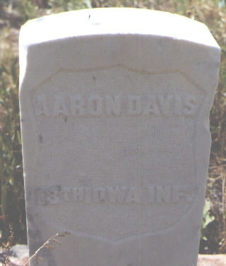 DAVIS, AARON - Pitkin County, Colorado | AARON DAVIS - Colorado Gravestone Photos