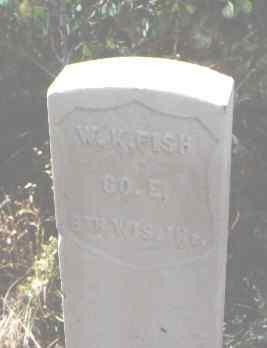 FISH, W. K. - Pitkin County, Colorado   W. K. FISH - Colorado Gravestone Photos