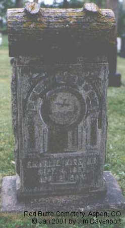 KIRSHER, CHARLIE - Pitkin County, Colorado | CHARLIE KIRSHER - Colorado Gravestone Photos