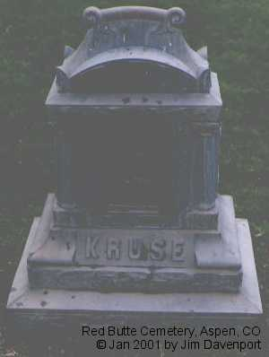 KRUSE, ALMIRA - Pitkin County, Colorado | ALMIRA KRUSE - Colorado Gravestone Photos