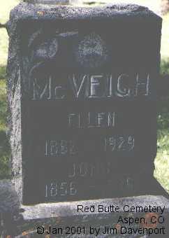 MCVEIGH, ELLEN - Pitkin County, Colorado | ELLEN MCVEIGH - Colorado Gravestone Photos