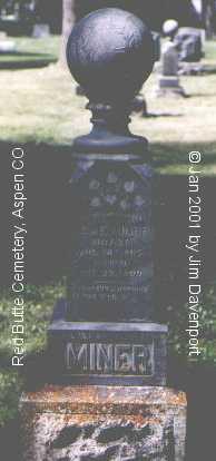 MINER, TOM E. - Pitkin County, Colorado | TOM E. MINER - Colorado Gravestone Photos